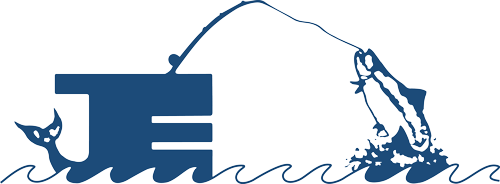 JE Fishing Logo